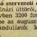 422. Rövidhírek 1958 augusztusából