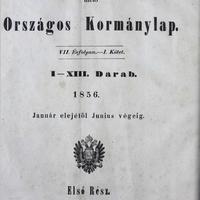 906. Községi adatok 1856-ból