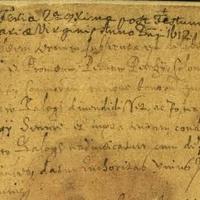 868. Egy ítélet 1612-ből