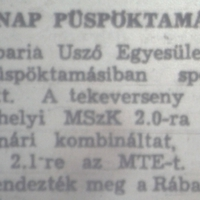 132. Sportnap Püspöktamásiban II.