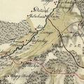 1041. Községünk környéke egy 1805-ös katonai térképen