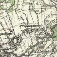 753. Községünk az 1941-es katonai felmérés térképén