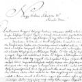 676. Kilépést kérő levél 1821-ből