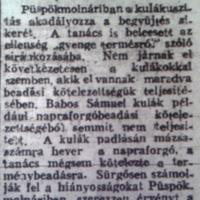 716. Rövidhírek 1951 végéről