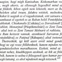 852. Lovas csata a törökökkel községünknél