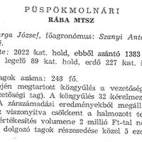 824. A községi termelőszövetkezet 1969-ben