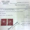 997. Az I. világháborús hősi emléktábla számlája