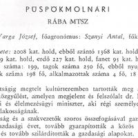 832. A községi termelőszövetkezet 1970-ben