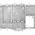 176. A molnári állomásépület alaprajza