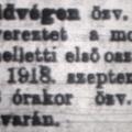 869. Száz éve történt 57.