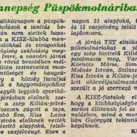 820. Kilián-ünnepség 1962-ben