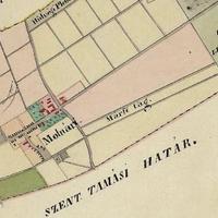264. Uradalmi térkép 1850-ből