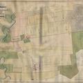 706. Molnári község tagosított határának térképe