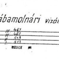 688. Rábamolnári vízállomás alaprajza a XX. század elejéről