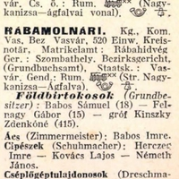 683. Községleírások 1924-ből