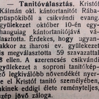 687. Kristóf Kálmán versei