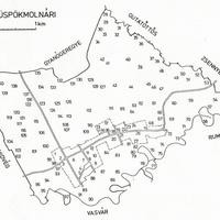 357. Püspökmolnári földrajzi nevei