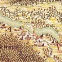 69. Marsigli térképe községünk környékéről az 1690-es évekből