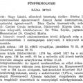 966. A községi termelőszövetkezet 1985-ben