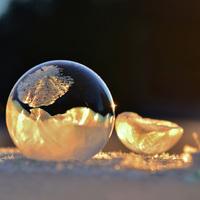 Mi történik, ha buborékot fújsz -9 °C-on?