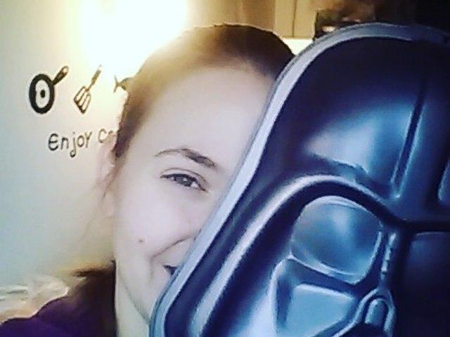 Darth Vader sütőforma! :D #darthvader #starwars #cooking