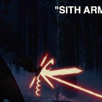 Új star wars, új fénykard!