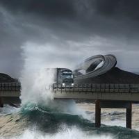 Utazz át velünk az Atlanti óceán felett - autóval (videó)