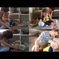 Nem fogod elhinni, hogy miért sír ez a kisbaba!