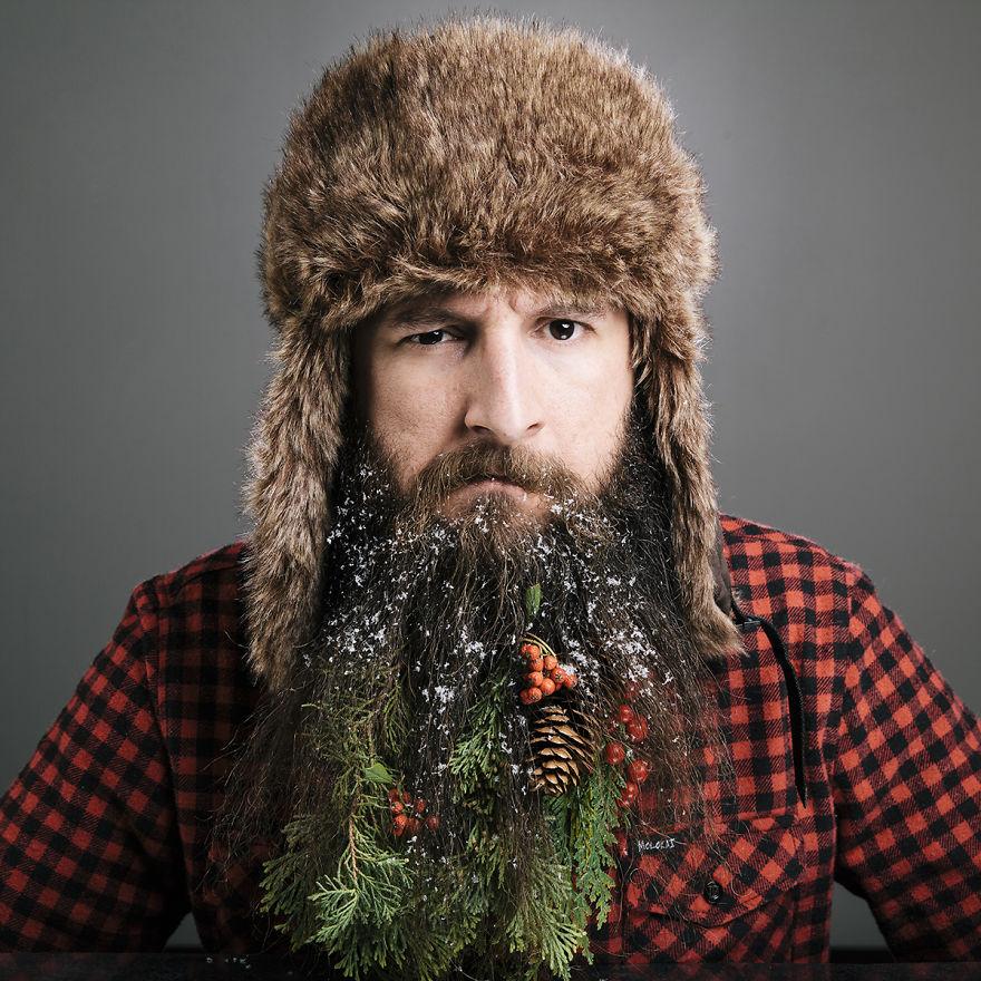 Egy erdei istenség is megirigyelhetné ezt a szakállat!