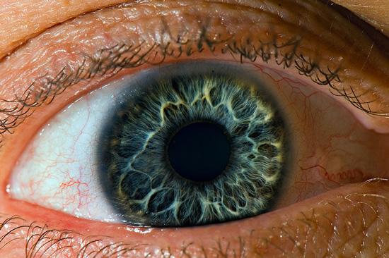 Végül, de nem utolsó sorban az emberi szemről pár példa
