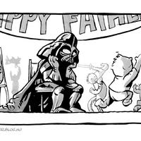 Luke-nál sem volt apás szülés. És nem is császárral jött a világra...