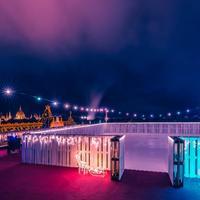 Korizz elképesztő panoráma mellett - Megnyitott az Intermezzo jégterasz