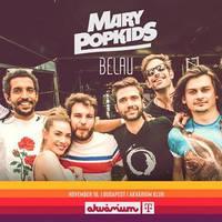 Évzáró Mary PopKids klubkoncert az Akvárium Klubban