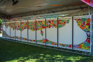 A legnagyobb közösségi festményt bocsátja aukcióra a Nagyon Balaton