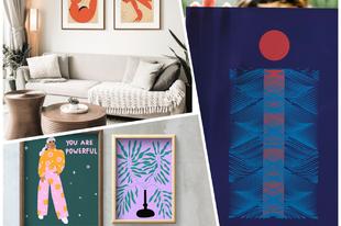 Női alkotók egyedi képei home office idején - Ez a The Purple Dot