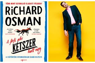 Richard Osman ismét felrobbantotta a könyvpiacot