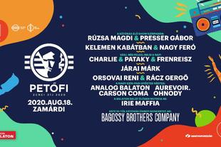 A Petőfi Zenei Díjjal és a Bagossy koncertjével indul a fesztiválszezon!