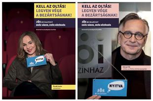 Budapesti művészek üzennek az oltás fontosságáról