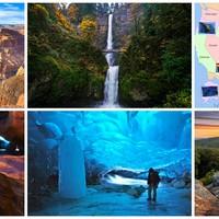 USA gyönyörű természeti képződményei I.