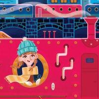 Az éjszakai vonat titka: egy kicsi lány egy nagy kalandban
