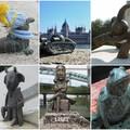 Jópofa miniszobrok Budapesten