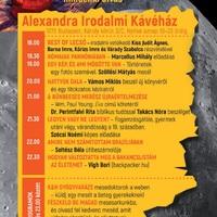 Az Alexandra Kiadó programjai az Olvasás Éjszakáján