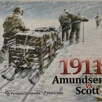 1911 - Amundsen vs Scott, avagy egy fagyos társasjáték