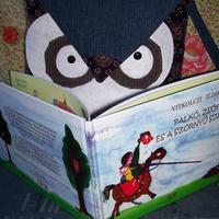 Vitkolczi Ildikó: baglyos táska olvasta mesekönyv