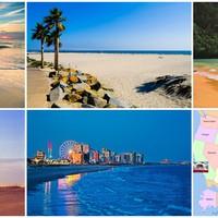 Varázslatos tengerpartok az USA-ban: vadlovak, mesebeli környezet, világítótornyok...