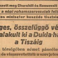 Sztálin 1944-es parancsa: Budapest gyors, menetből való elfoglalása