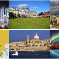 Európa különleges országai, a szigetországok