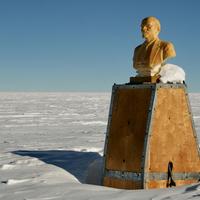 Lenin-szobor az Antarktiszon
