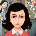 Anne Frank naplója képregénybe csomagolva