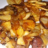 Fűszeres kacsamellérmék mézes-rozmaringos almával